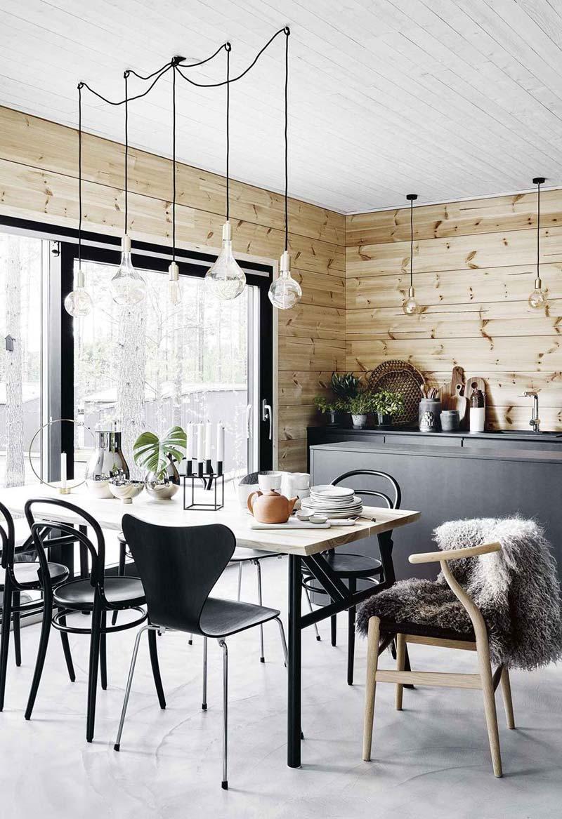 moderne mat zwarte keuken