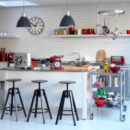Moderne Retro Küche
