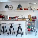 Moderne retro keuken