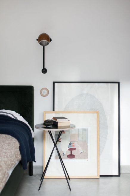 moderne slaapkamer met vintage meubels  inrichtinghuis, Meubels Ideeën