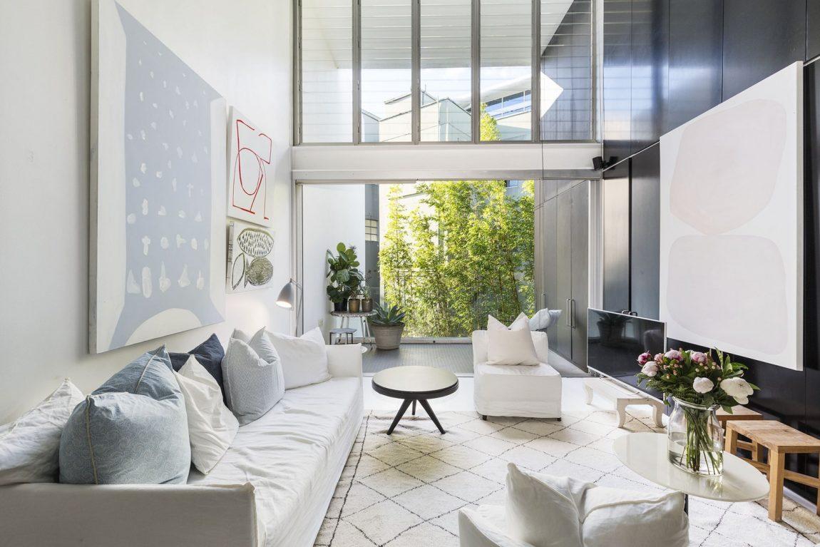 Dit moderne speelse appartement is super mooi en sfeervol