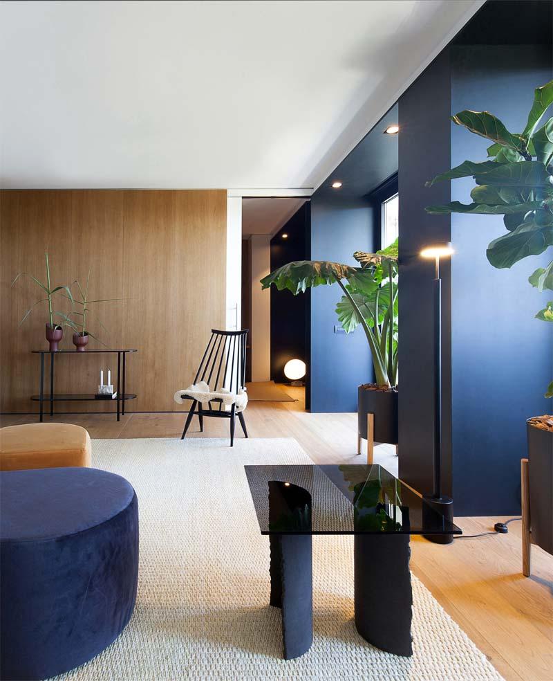 moderne spotjes plafond woonkamer