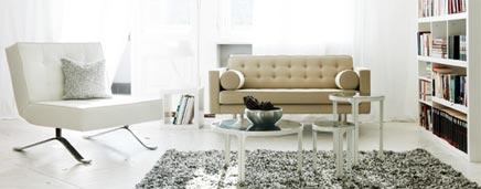 Moderne en strakke designer meubels