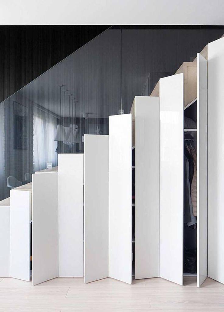 Moderne trapkast