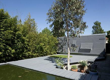 Grote Moderne Tuin : Moderne tuin met grote vijver inrichting huis.com