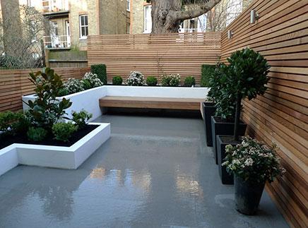 Moderne tuin uit Londen