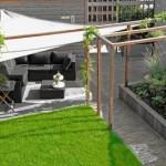 Moderne tuin in Vathorst