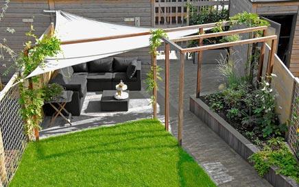 Moderne tuin in vathorst inrichting huis