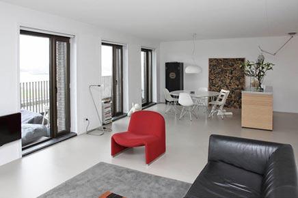 Moderne woning te koop lloydstraat rotterdam inrichting - Grijze hoofdslaapkamer ...
