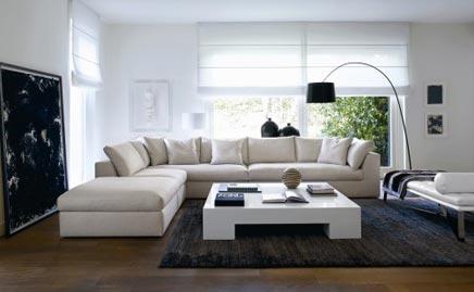 Ongekend Moderne woonkamer zonder fratsen | Inrichting-huis.com UB-26