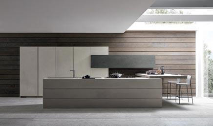 Modulnova keuken Twenty Cemento