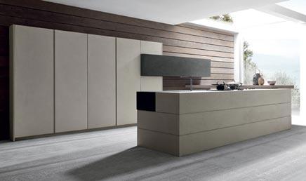 Modulnova Küche Twenty Cemento