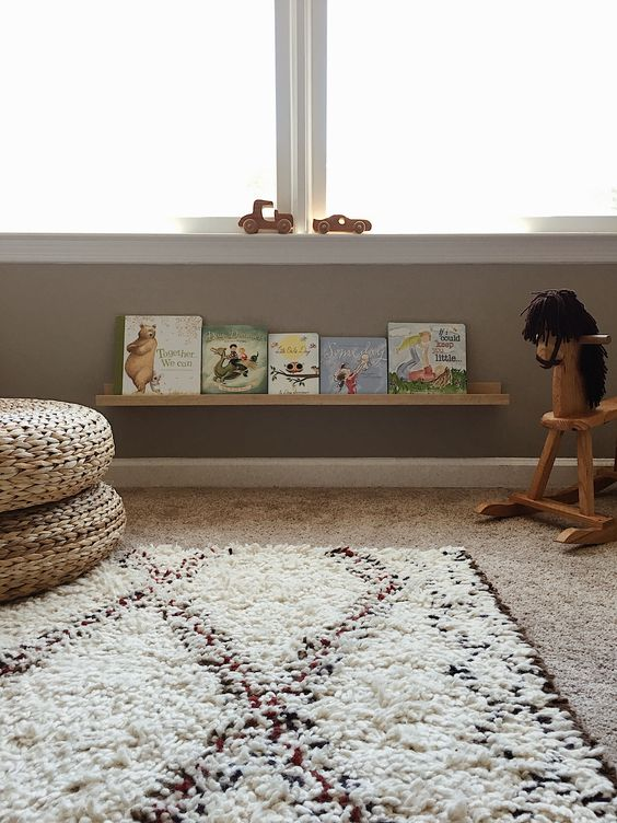 Montessori kinderkamer decoratie