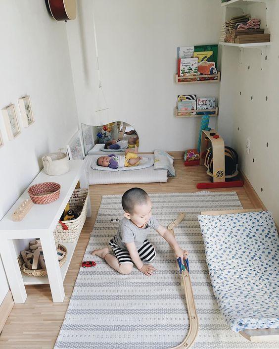 Montessori kinderkamer speelgoed