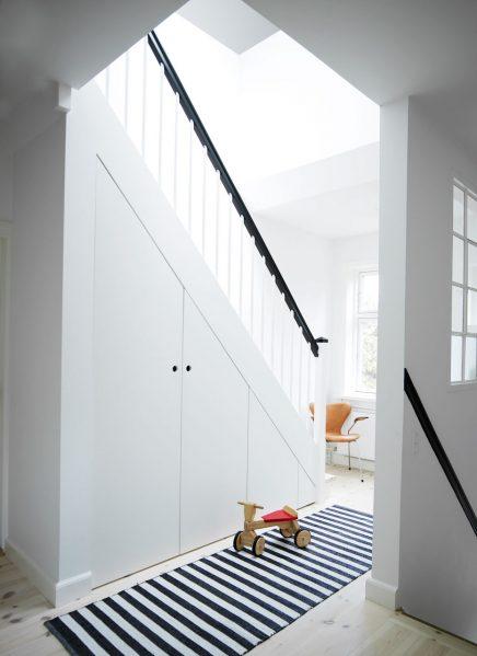 Mooi afgewerkte trapkast