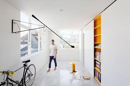 Mooi ontwerp voor super klein appartement