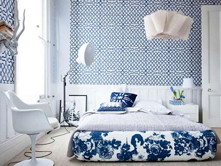 mooi slaapkamer behang 3