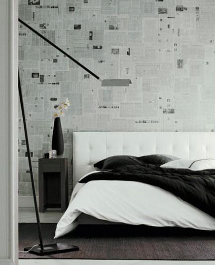 Mooi slaapkamer behang Inrichting-huis.com