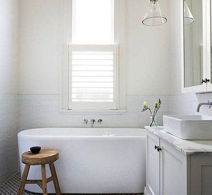 Mooie badkamer van interieur ontwerpster Terri Shannon