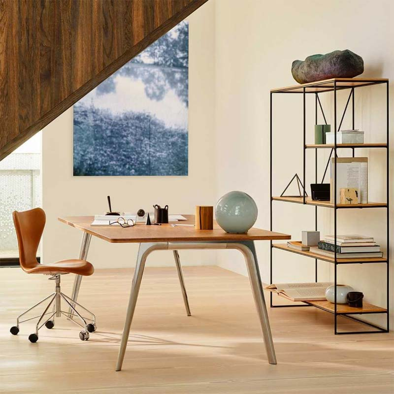 mooie design bureaustoel fritz hansen