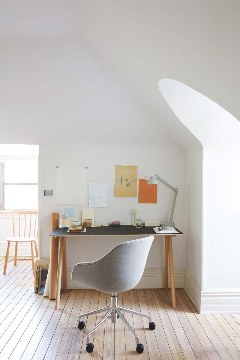 10x Mooie design bureaustoel
