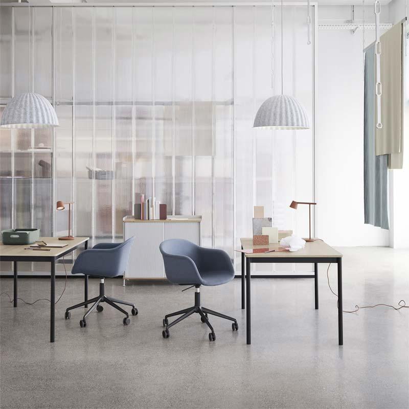 mooie design bureaustoel muuto