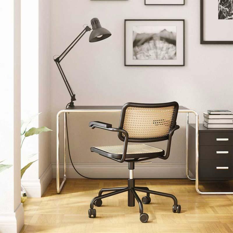 mooie design bureaustoel thonet s64