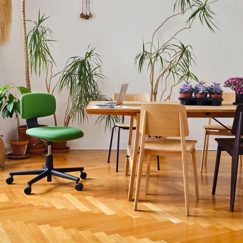 mooie design bureaustoel vitra rookie bureaustoel