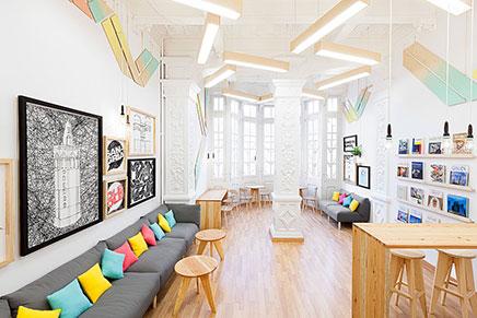 Mooie design school in Valencia