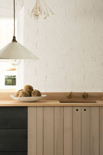Mooie houten keuken
