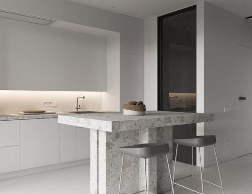 mooie inbouwspots in de keuken