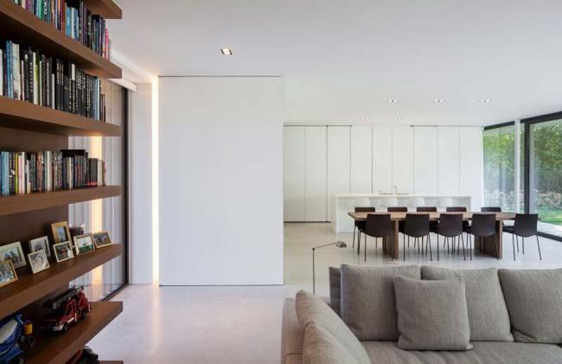 mooie inbouwspots woonkamer