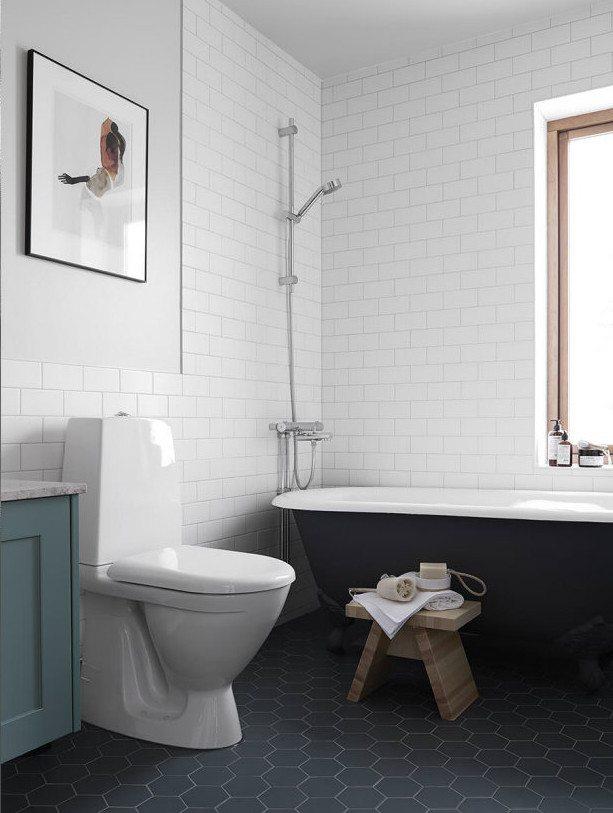 Mooie Japans geïnspireerde Scandinavische badkamer | Inrichting-huis.com