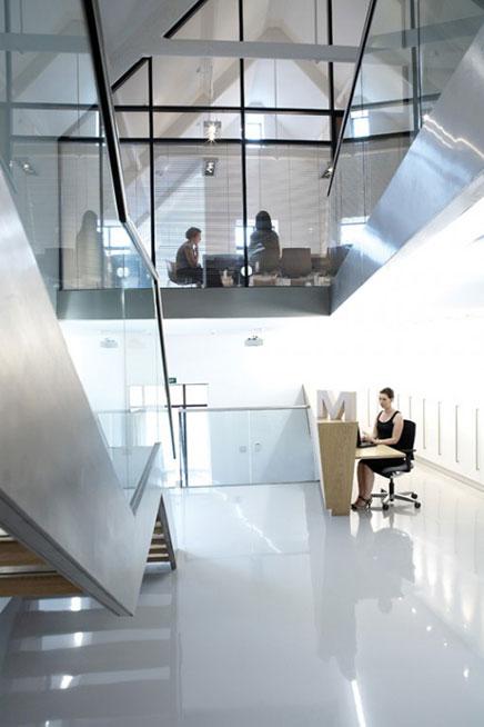 Het mooie kantoor van Michon Creative