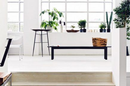 Mooie loft woonkamer ingericht met vintage meubels inrichting - Vintage woonkamer meubels ...