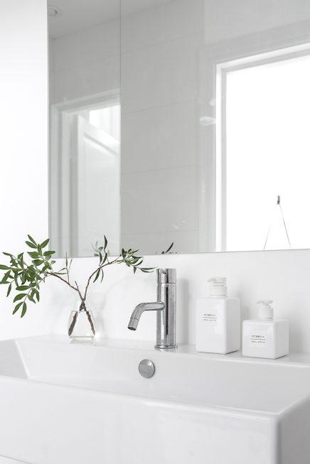 Mooie Scandinavische badkamer van 5,25m2   Inrichting-huis.com
