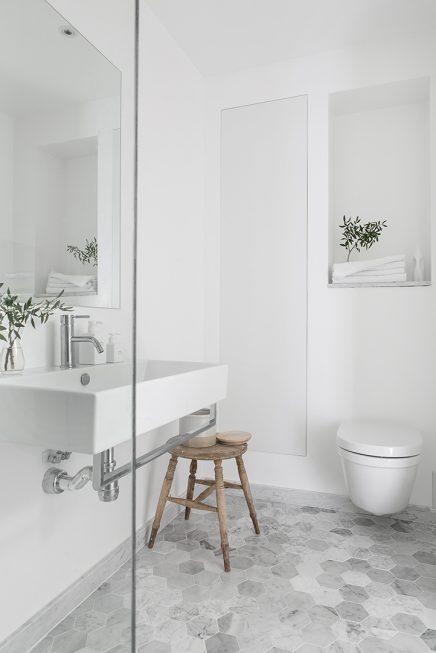 Mooie scandinavische badkamer van 5 25m2 inrichting - Mooie badkamers ...