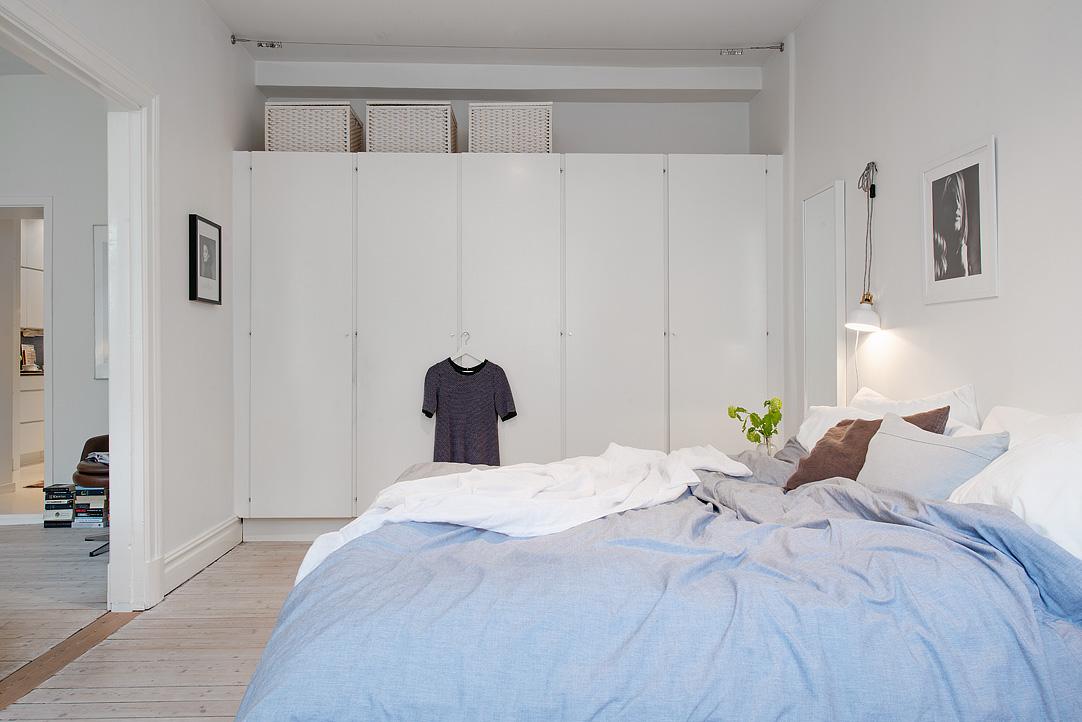 Mooie slaapkamer met inbouwkast | Inrichting-huis.com