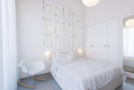 Mooie slaapkamer met mooie ramen  Inrichting-huis.com