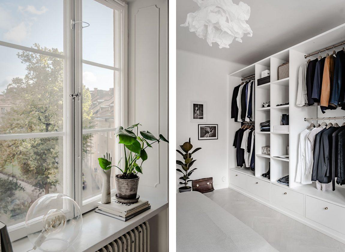 In deze mooie slaapkamer vind je een stoer DIY underlayment bed!