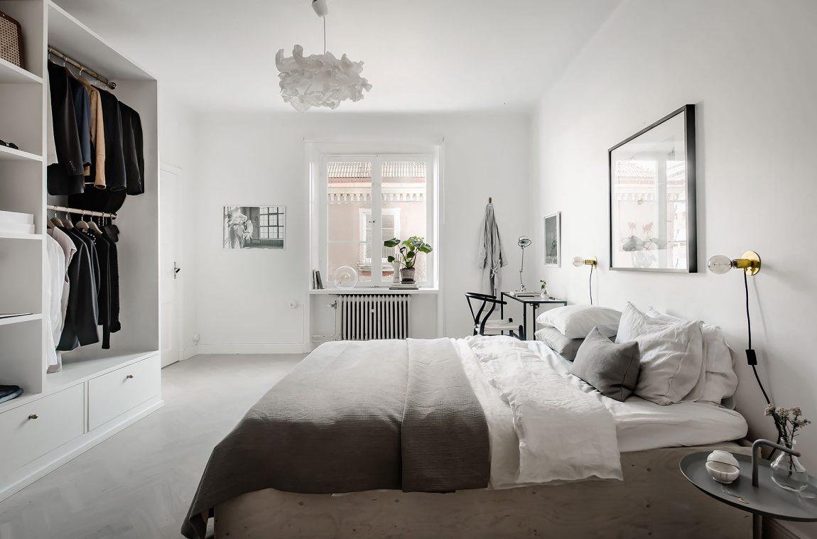 In deze mooie slaapkamer vind je een stoer DIY underlayment bed ...