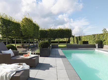 Mooie tuin in nog mooiere omgeving inrichting - Afbeeldingen van terrassen verwachten ...