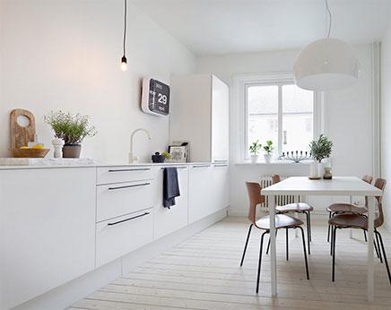 Inspiratie Witte Keuken : Mooie witte keuken inrichting huis
