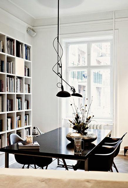 Mooie woninginrichting van modeontwerper Naja Munthe