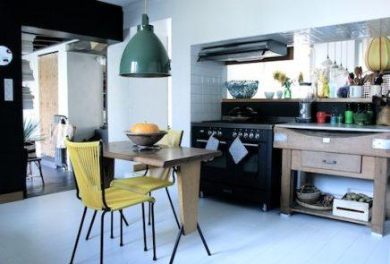 Mooie woonkamer van Franse interieurstylist Anne Milet