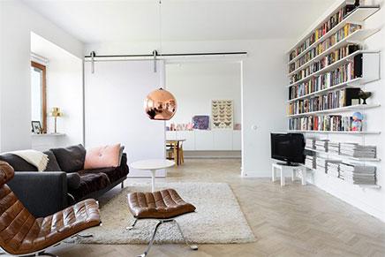 Mooie woonkamer met grote schuifdeur inrichting for Schuifdeur woonkamer