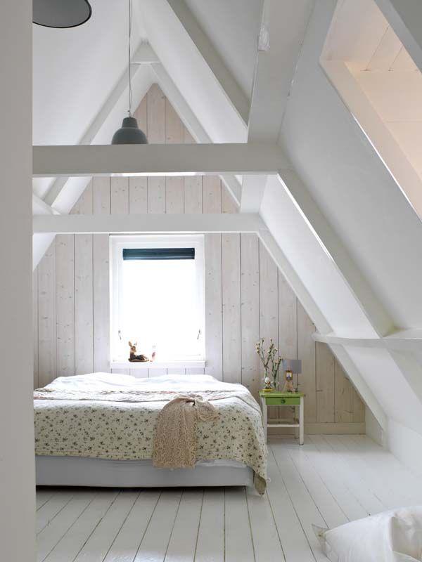 Ongebruikt 15x Mooiste slaapkamers op zolder | Inrichting-huis.com NV-83