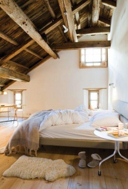 15x mooiste slaapkamers op zolder inrichting for Slaapkamer op de zolderfotos