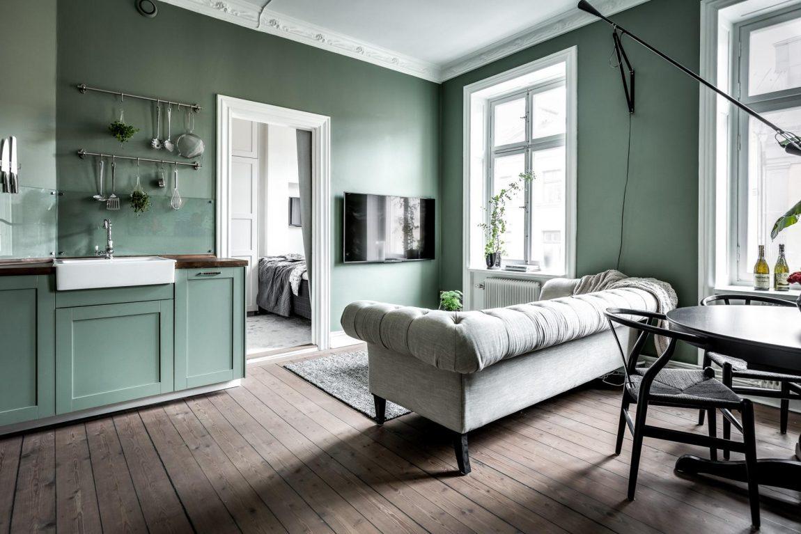 Kleine slaapkamer met grote inbouwkast | Inrichting-huis.com