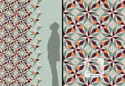 Mozaïek tegels van Anne Dérian